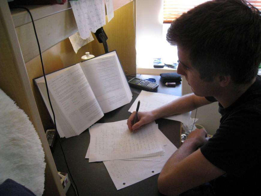 Studying uni