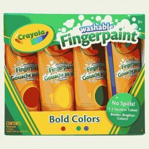 Washable Fingerpaints Primary 1