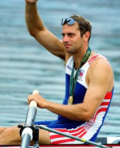 STEVE REDGRAVE (Great Britain) Gold Medal in Coxless Pairs 27/7/96